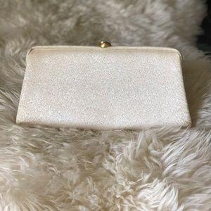 Handbags - Vintage Gold Clutch